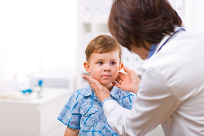 doença da tireoide infantil